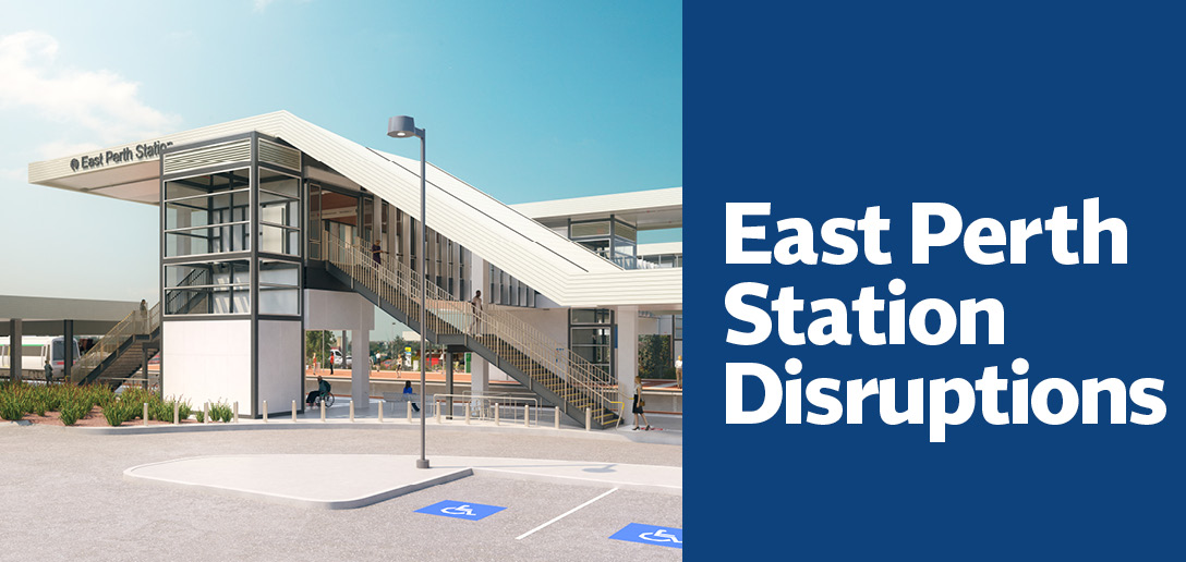East Perth Station Disruptions