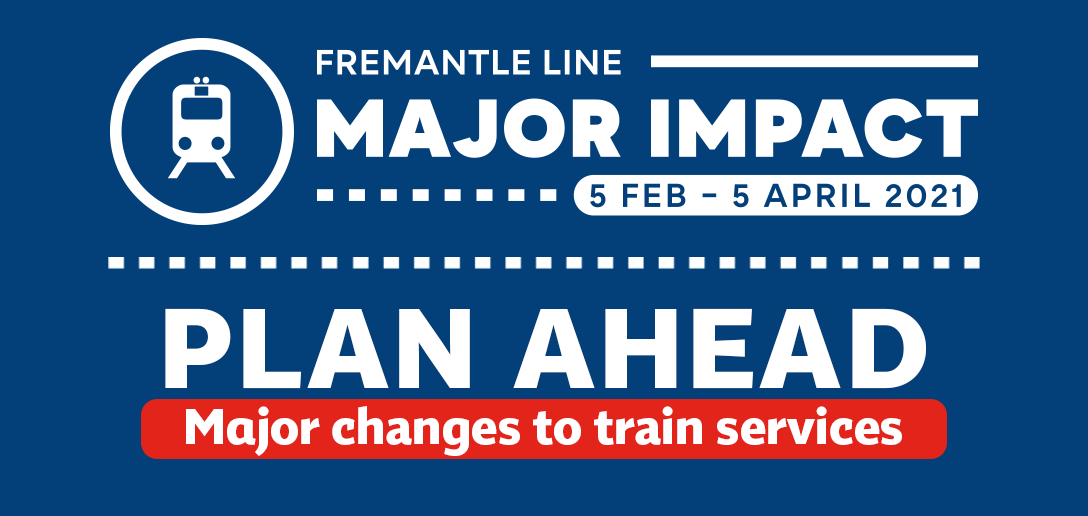 Major Impact to Fremantle Line services