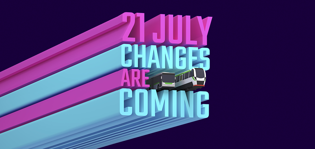 Train and Bus Network Wide Changes
