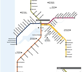 Transperth System Map